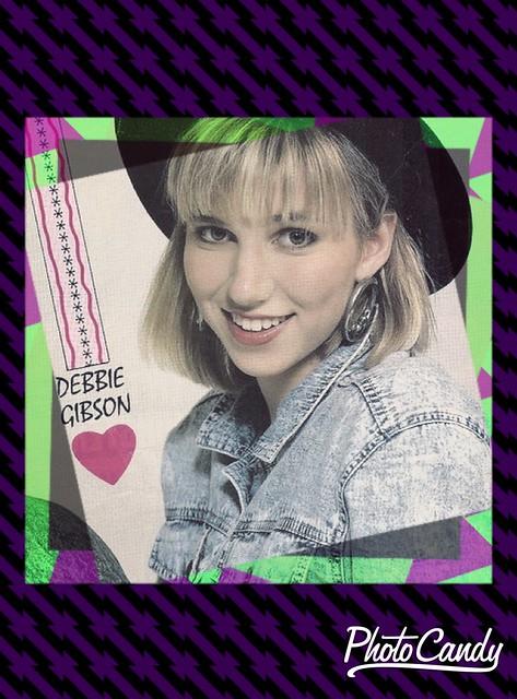 Debbie Gibson 80s effect