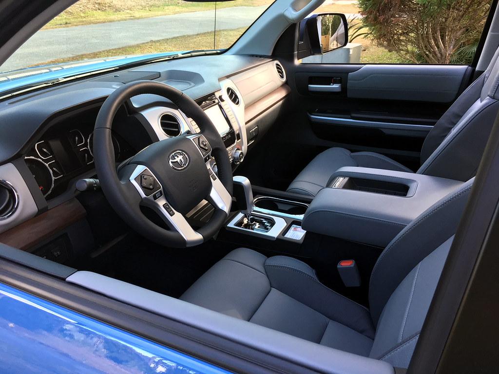 2018 Toyota Tundra Interior   Interior of 2018 Tundra Crewma…   Flickr