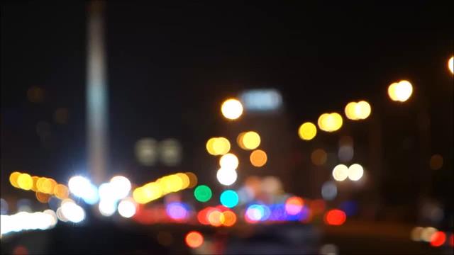 Bokeh Video of Street Lights