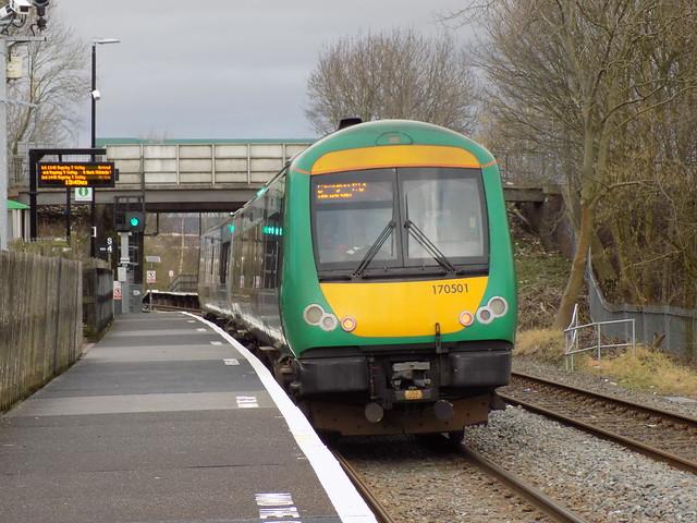 170501 at Landywood Station