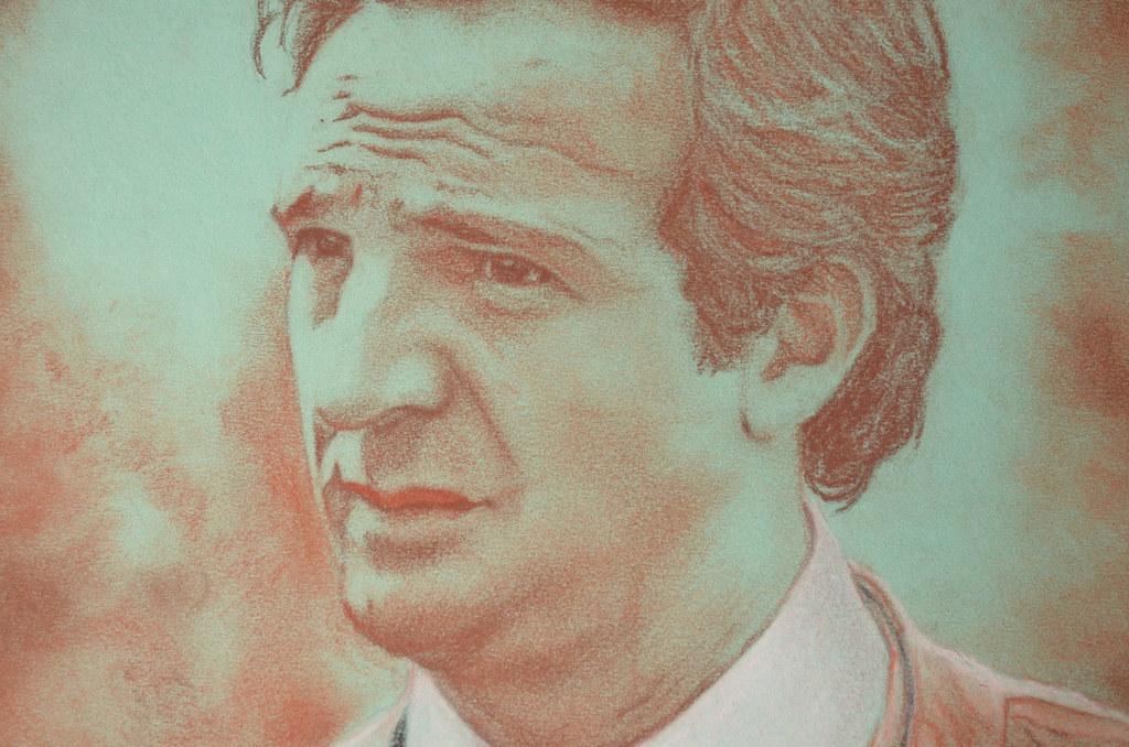 François Truffaut portrait