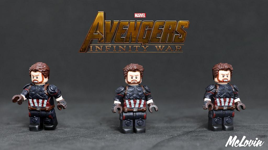LEGO Minifigures LEGO Building Toys Captain America Minifigure