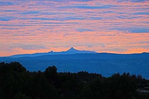 sunrise landscapes mtkenya aberdaresranges skies