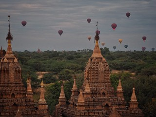 temples and balloons | by paddy_bb