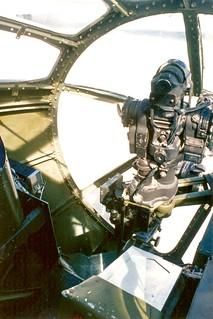 USAAC Boeing B-29A Superfortress, air-to-air gunsight transparent nose  95-15-3A