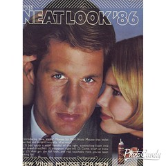 80s Vitalis Mousse for men Product Advertisement 1986