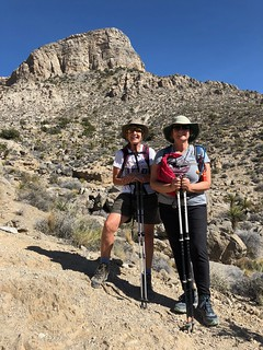 Las Vegas - Linda and Tammie with the climbed Turtlehead Peak | by Pierre Yeremian
