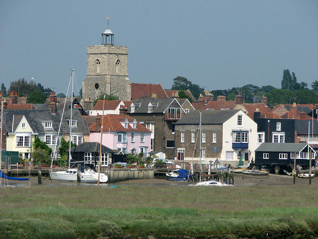 Wivenhoe from Rowhedge