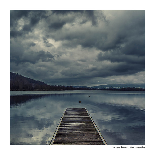 At the blue Lake