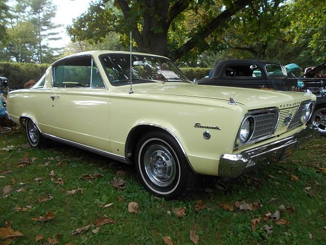 1966 Plymouth Barracuda Formula S   Hagley Museum Car Show