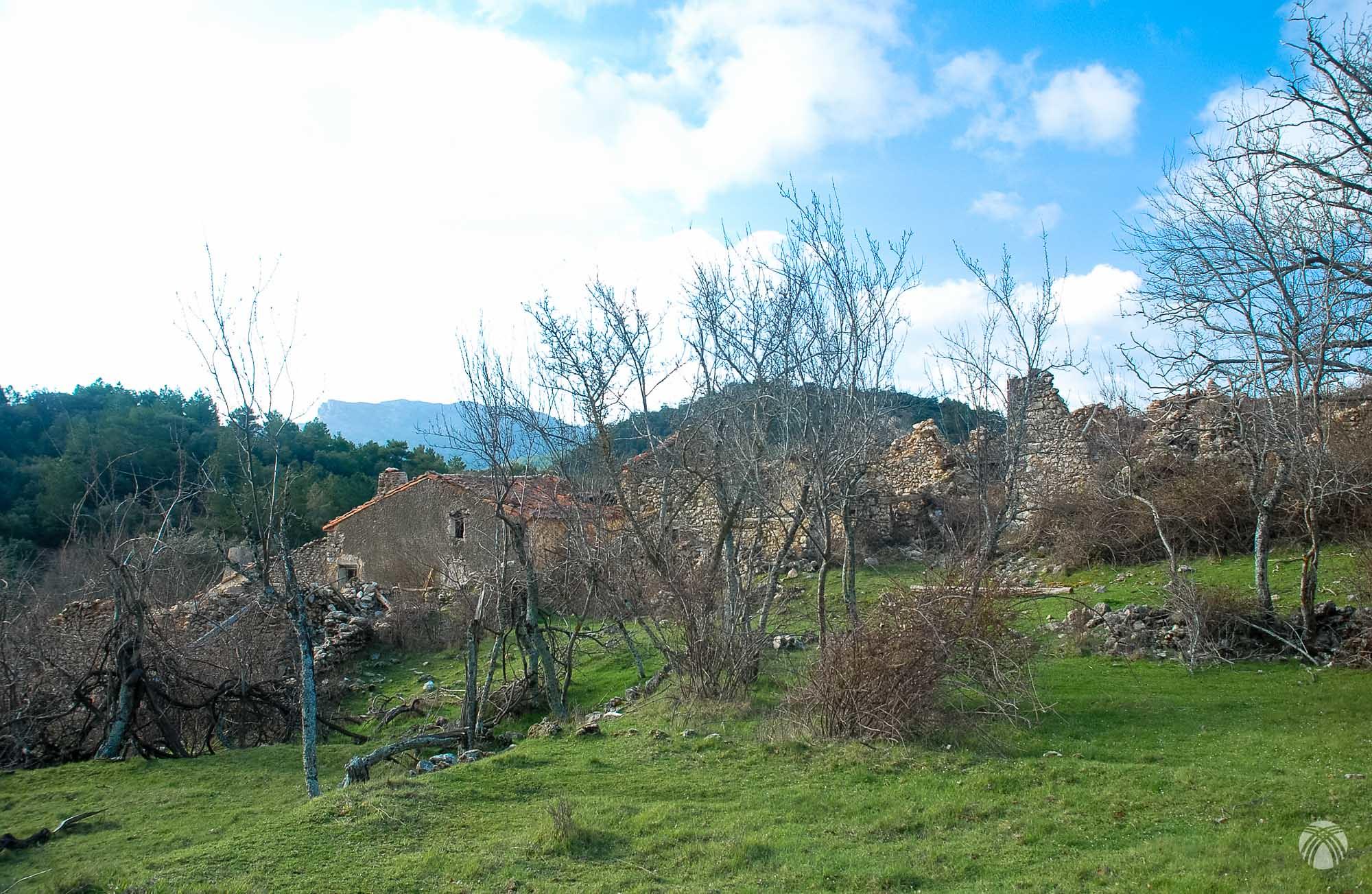 Aldea abandonada del Prado de Juan Ruiz