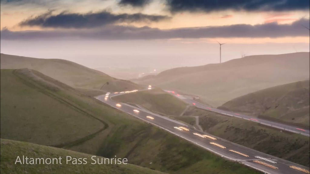 Sunrise at Altamont Pass   A timelapse of sunrise at Altamon…   Flickr