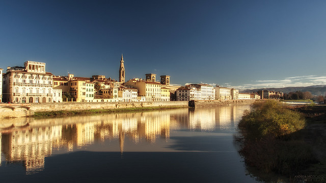 Fiume Arno - Firenze (Italy)