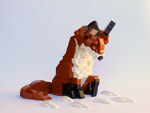 Red Fox (2x upscaled)
