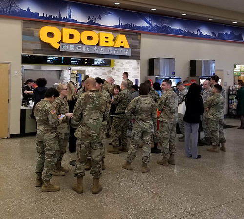 Fort Meade Qdoba Line | by Army & Air Force Exchange Service PAO