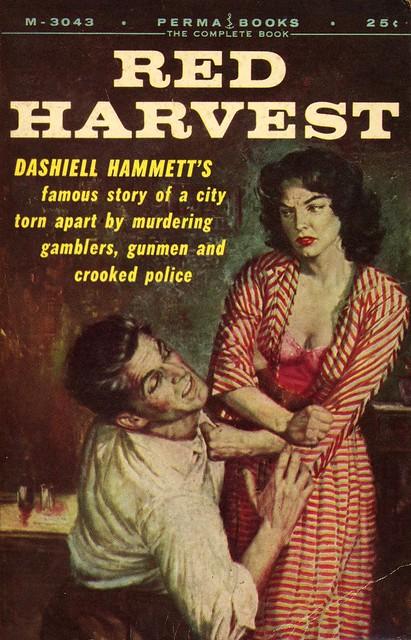 Perma Books M-3043 - Dashiell Hammett - Red Harvest