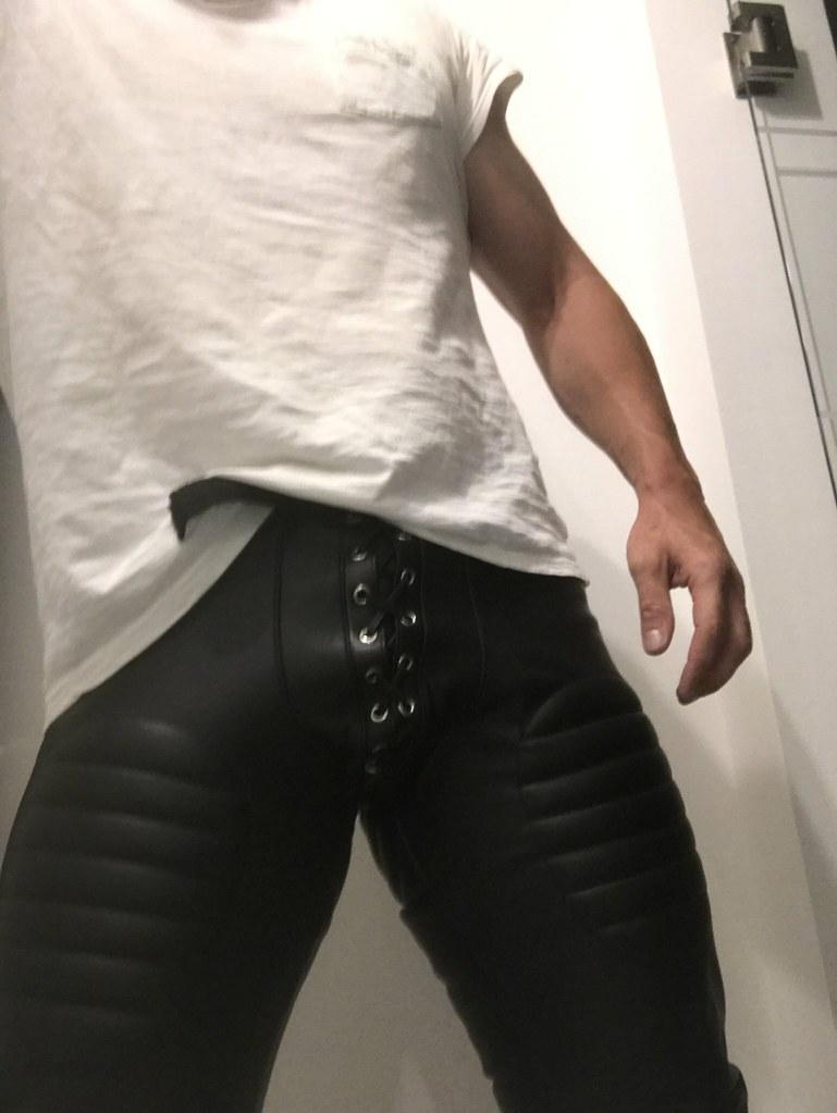 Gay leder Biker Leather