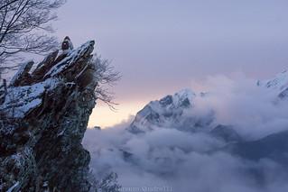 Apuan Winter Sunset | by quadrelli.lorenzo