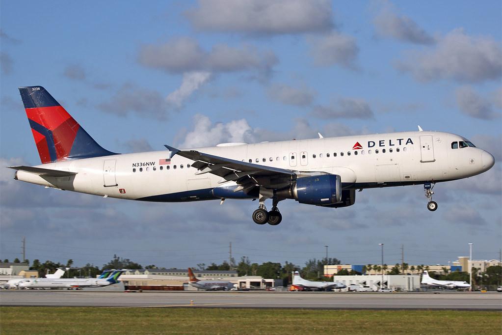 N336NW A320 Delta MIA 20171205