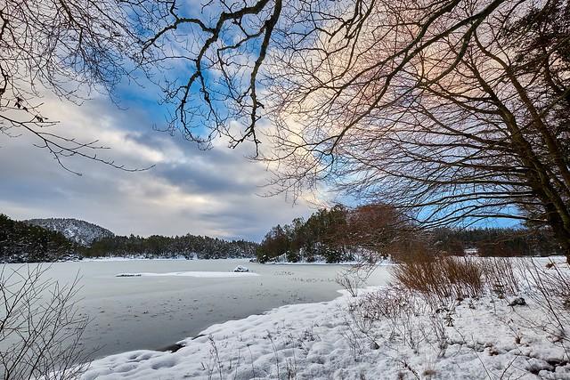 Winter landscape, Norway