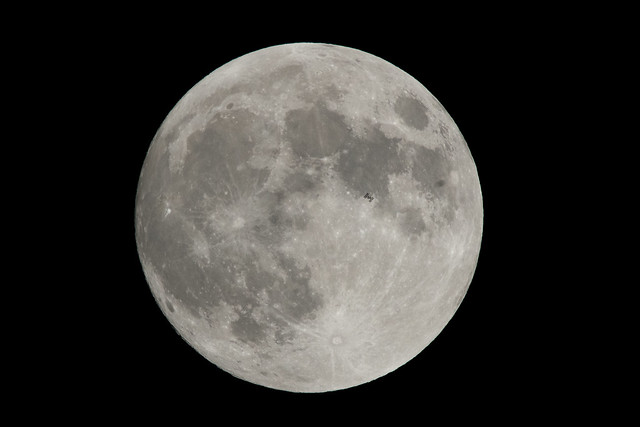 International Space Station Lunar Transit (NHQ201801300002)