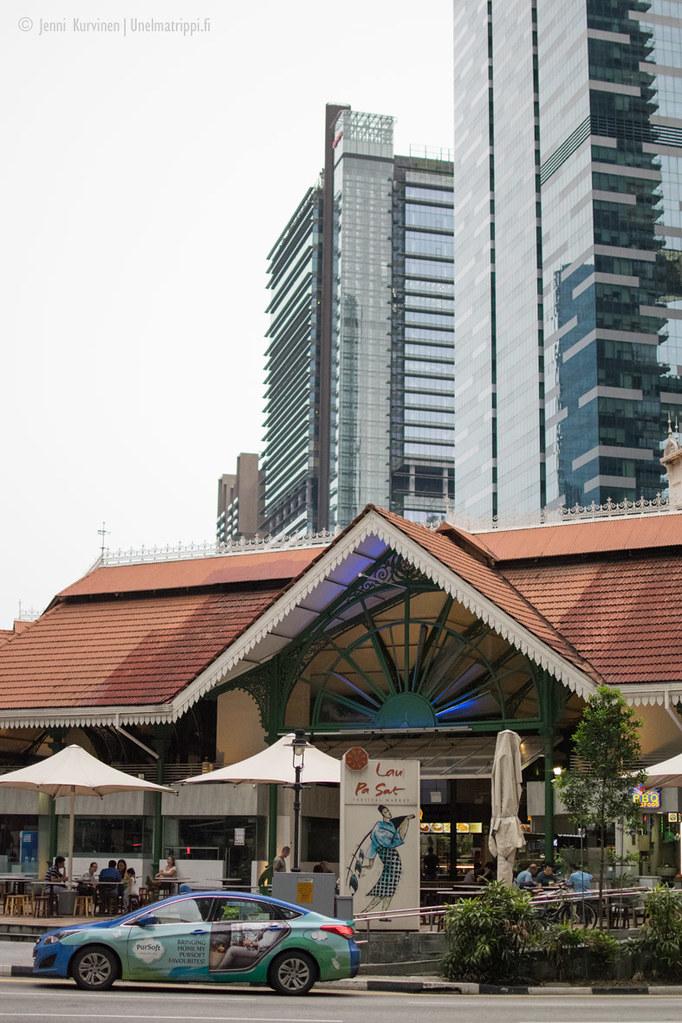 Telok Ayer Market, Singapore