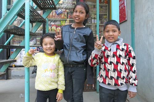 Enfants de Khatmandu (Népal)