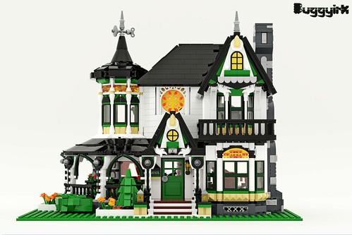 LEGO Ideas Victorian Dream Home - Exterior
