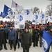 Manifestation des lockoutés d'ABI devant l'Assemblée nationale / Day of Action for Local 9700 at Quebec National Assembly