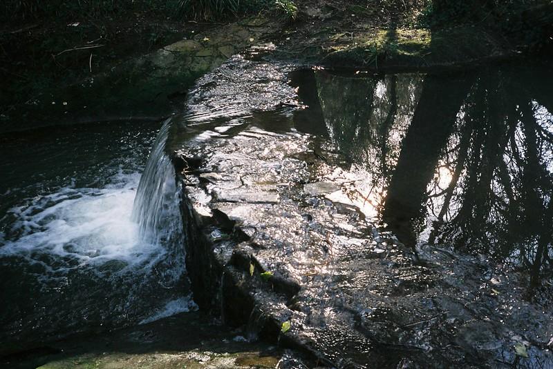 Pigeonhouse Stream weir