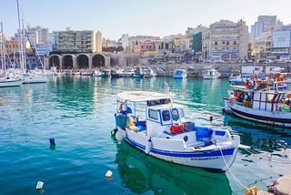 Kreetan pääkaupunki Iraklion | by terhikokko
