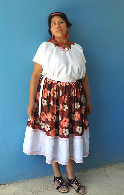 Nahua Woman Puebla Mexico
