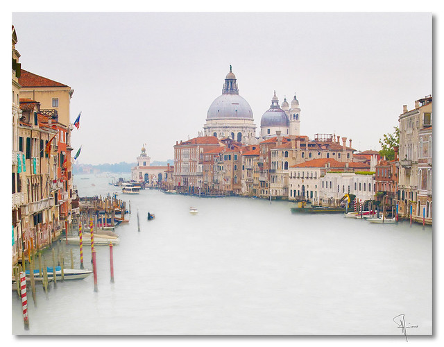 Grand Canal, Venice - by John Runions