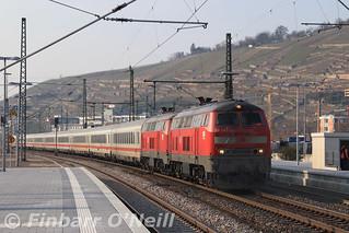 IC2013 passing through Esslingen (Neckar) | by finnyus