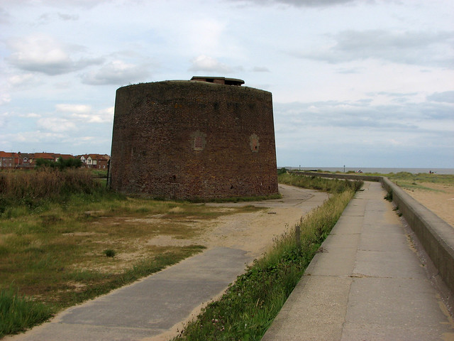 Martello Tower near Clacton-on-Sea