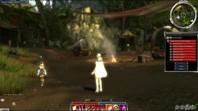 Sparkly Swamp in GuildWars