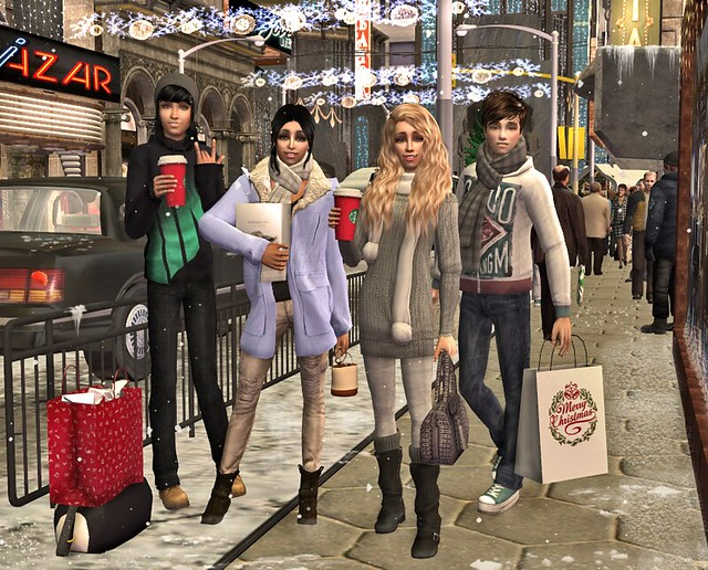 Yasmina`s winter holidays in NY