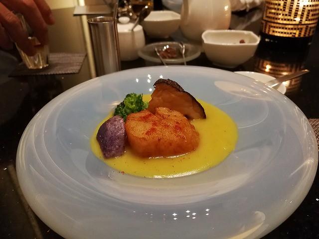 <p>d)海鮮料理</p>