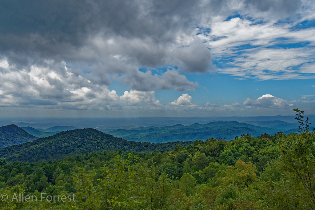 View from Top of Sassafras Mountain