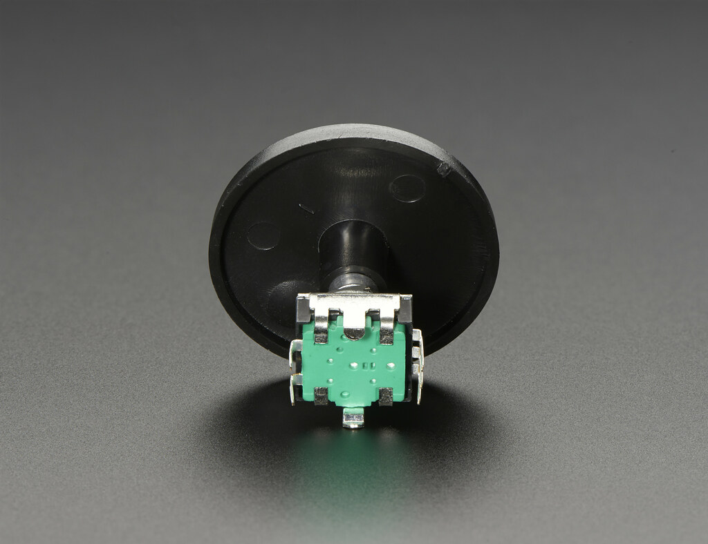 Scrubber Knob for Rotary Encoder - 35mm | Available at Adafr… | Flickr