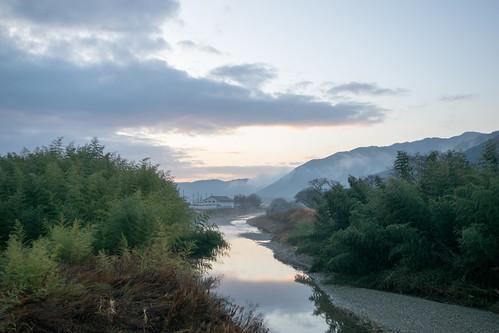 landscape japan sunrise