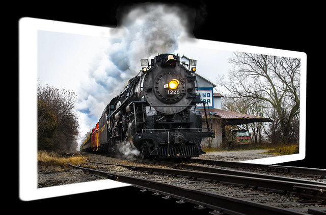 Pere Marquette 1225, Out of Bounds