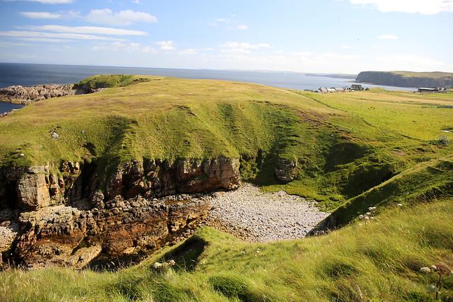 The coast at Portskerra