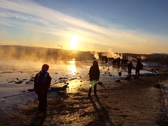 Geyser geothermal area