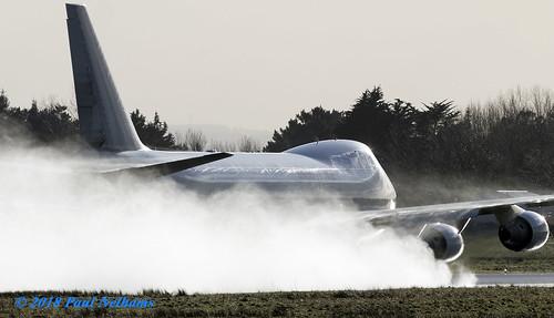 n401kz boeing 747 747400f cks kalittaair spray departure shannonairport