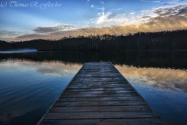 Daybreak at the Dock