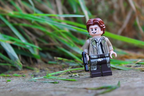 Han Solo on Endor | by thebatbrickyt