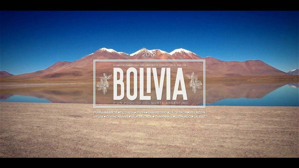 Bolivia and northern Argentina - 2012