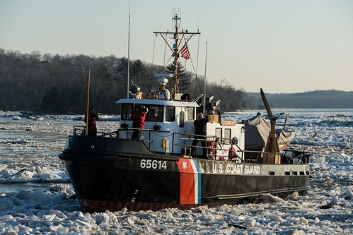 Coast Guard continues to break ice on the Connecticut River | by Coast Guard News