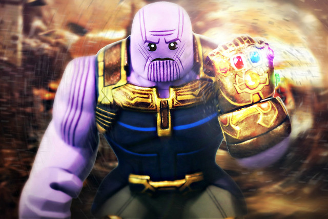 LEGO Avengers: Infinity War - Thanos Preview